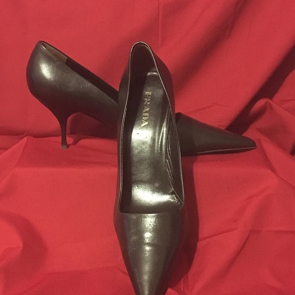 "Prada Shoes - ""Prada"" Soft Nappa leather Pumps"